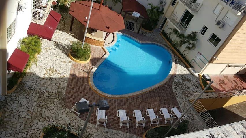 Boca Chica Beach apartment w/pool - Boca Chica - Byt