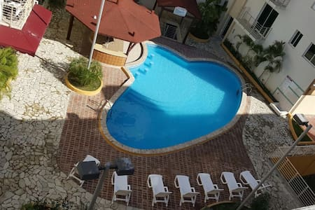 Boca Chica Beach apartment w/pool - Boca Chica