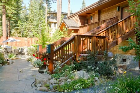 North Lake Tahoe condo with private beach passes