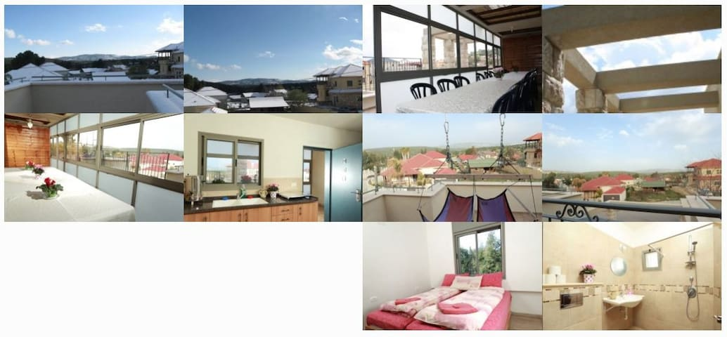 The Gefen Family suite in Meron