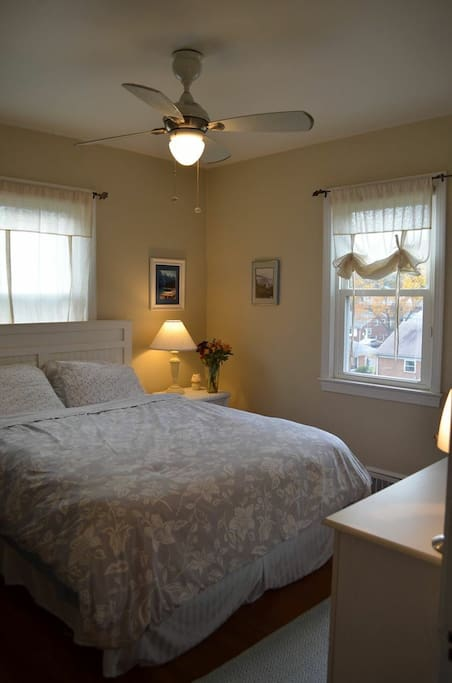 First guest room.