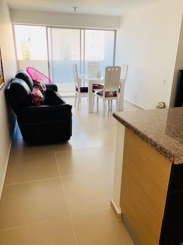 Apartamento Baranoa amoblado/Foseunab-Foscal-Unab
