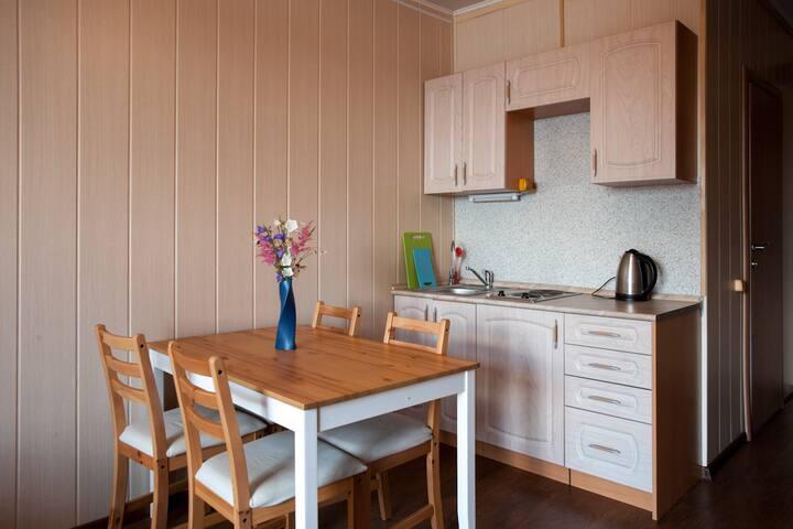 Уютный номер с кухней