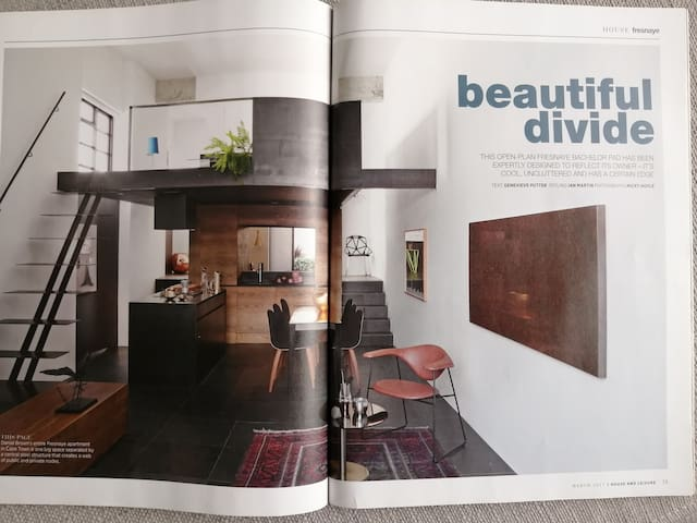 Featured in top interiors magazine House & Leisure.