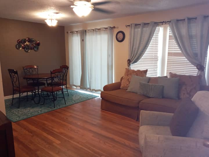 Stay A While at our 3 BR home away from home.