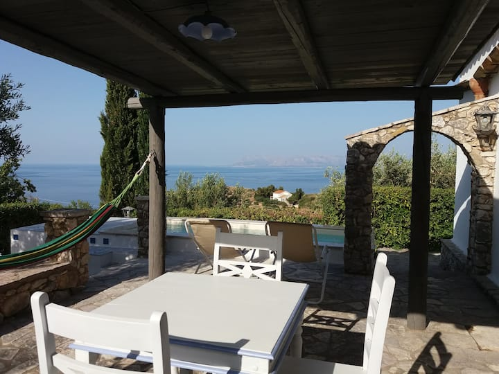 Apartment with Veranda...Sea View Scopello