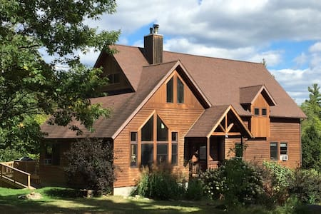 Beautiful Home in Private Wilderness Setting - Wilmington - Hus
