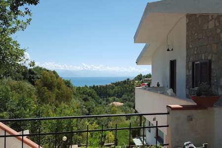 Scario-Cozy appartment with great seaview