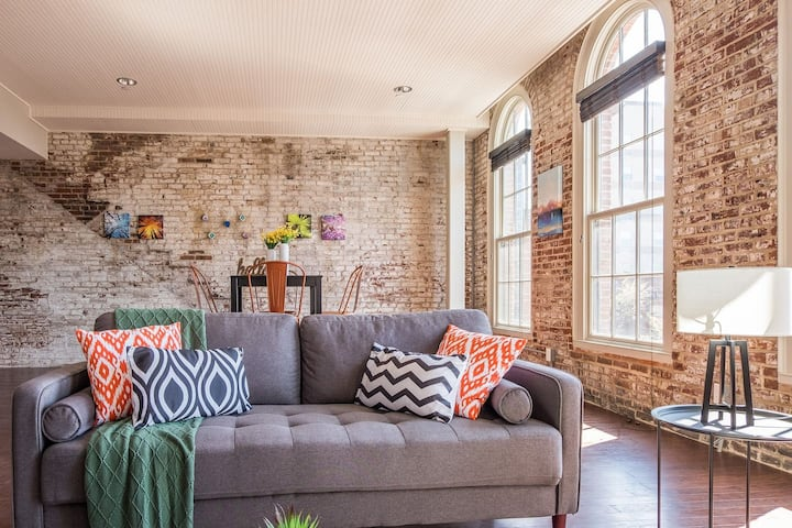 Fashionable Flat in Downtown Louisville