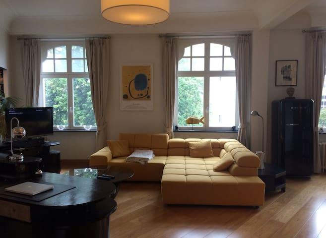 Park view apartment - Saint-Gilles - Wohnung