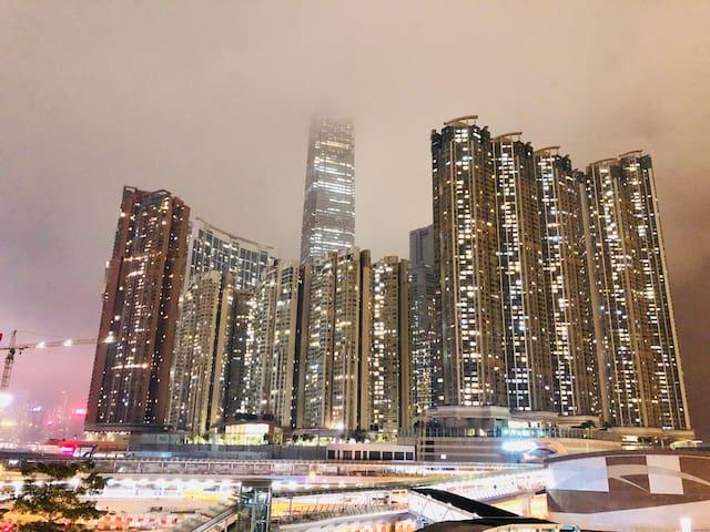 Cozy2RmBalconyUnitAustin/Kowloon/JordanSatation