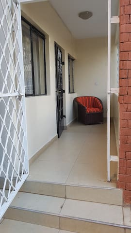 Private Entrance to Apartment