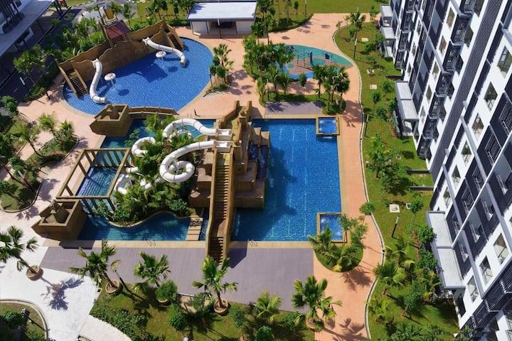 ★ Water Park Swiss Garden Beach Resort Residence ★