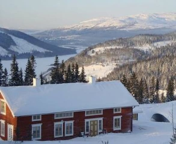 Fantastic ski-lodge