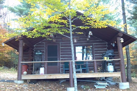Off Grid Real Log Cabin - AMAZING Mountain Views! - Andover - Sommerhus/hytte