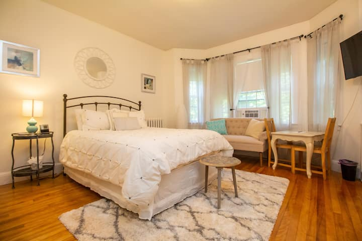 Furnished First-Floor Studio in Coolidge Corner