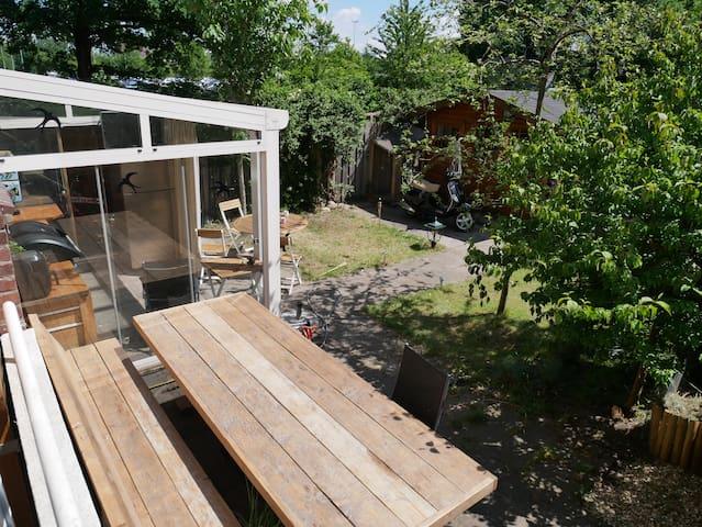 Appartement + Tuin (nabij centrum Breda)