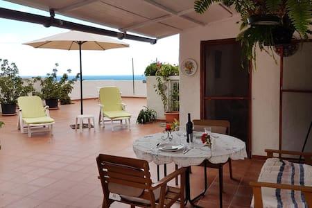 Attic with great terrace in Risco Agaete