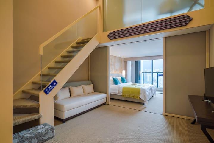 一呆公寓·大理滨海俊园(复式套房) - Dali - Pis
