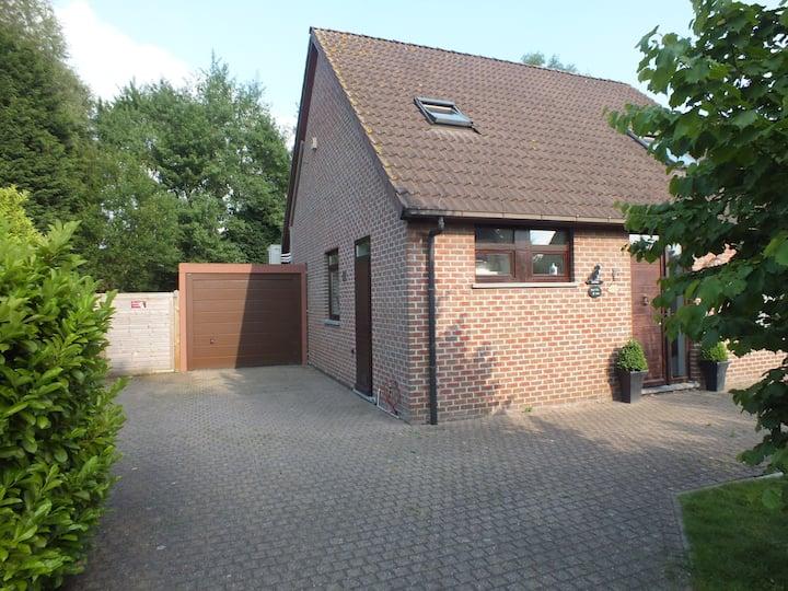 quiet house near Antwerp