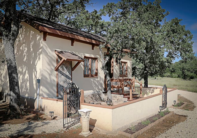 Sangiovese--Italian style in Texas Wine Country