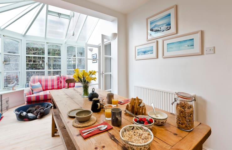 Attractive en suite  double bedroom - Chiswick - Bed & Breakfast
