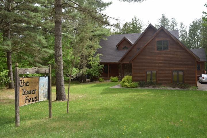 Large cedar home on Intermediate Lake
