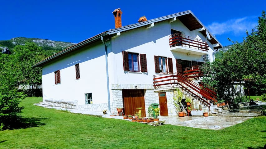 House Sonja-piece of paradise in nature park Učka