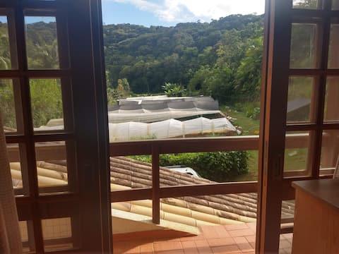 Casa Sítio Orgânicos próximo de Florianópolis