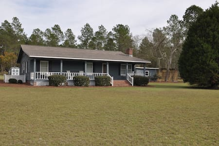 Lovely 3BR ranch on 5 acres - Moultrie - Casa