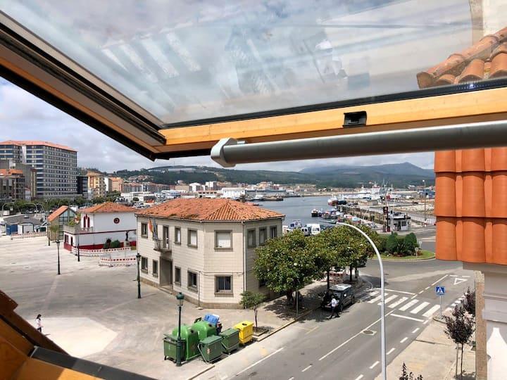 Casa 3 plantas centro de Riveira (Rías Baixas)