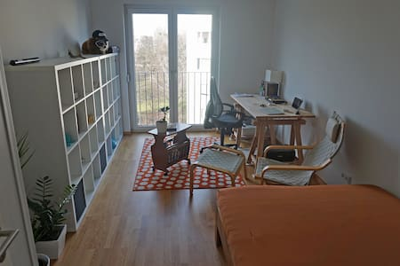 Large room in the center of Berlin with own bath - Apartment