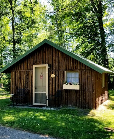 CABIN sleeps 3 near Manistee & Ludington