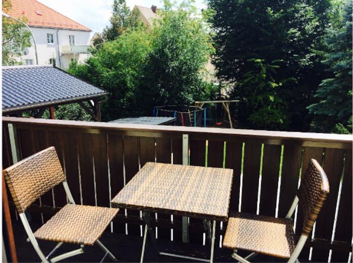 Moderne Wohnung mit Balkon am Stadtpark