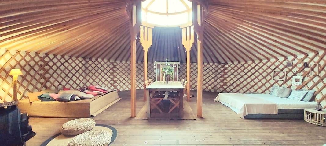 Riverside Yurt