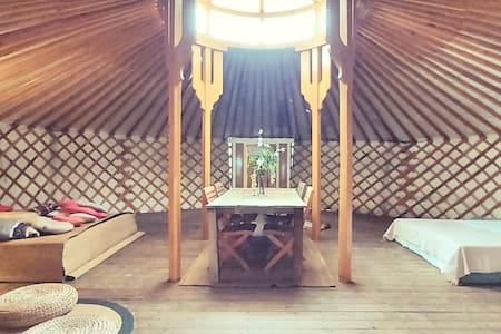 Riverside Yurt