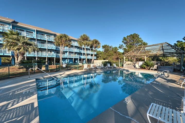 Enjoy access to the community pool during your stay!
