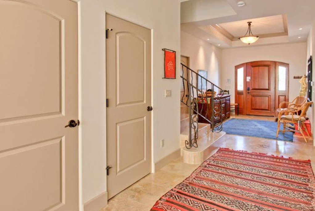 front entry hallway
