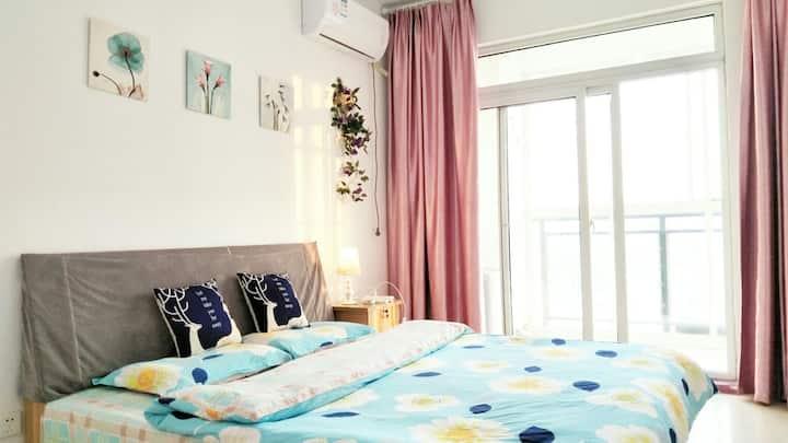 附近有 云门山 范公亭 古城 博物馆可做饭的一居室大床房