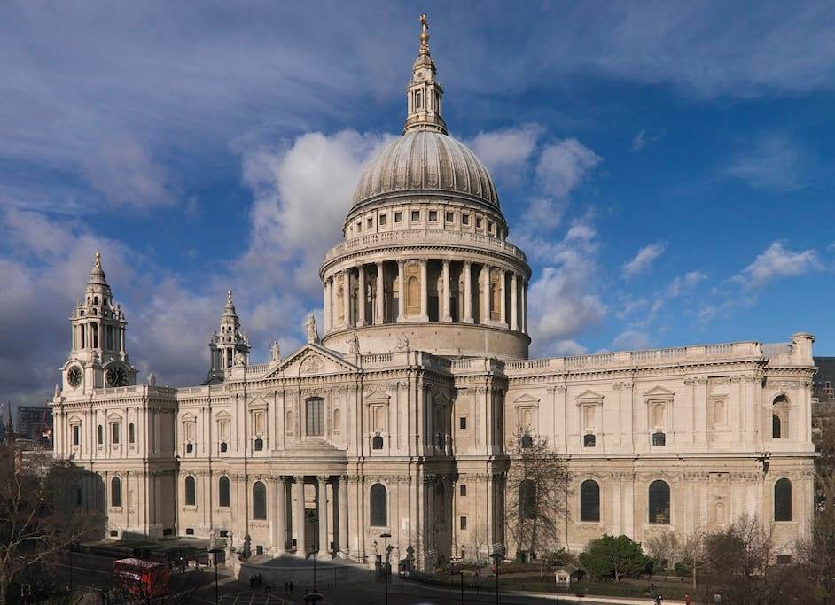 Nearby St Pauls