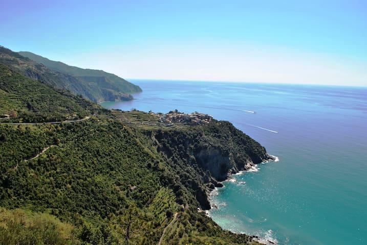 Corniglia Room sea view up 5 Terre (203) - Corniglia - Overig