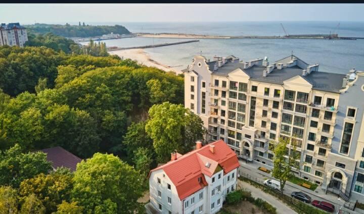 Квартира на берегу Балтийского моря 🏖