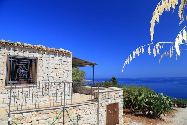 Beautiful villa with breathtaking sea view