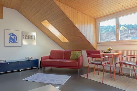 Dachzimmer in Reiheneinfamilienhaus mit Sitzplatz - Winterthur - Hus