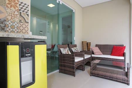 Prédio e Apartamento Novo Impecável - Guarujá - Apartment