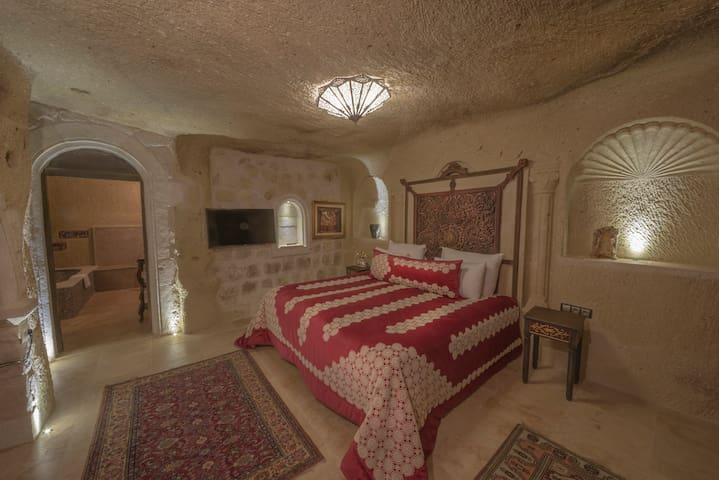 Deluxe Room (Bathtub, Hammam + Breakfast For 2) - Ortahisar - Boetiekhotel