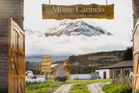 HOSPEDAJE MONTE CARMELO DE ALTURA ENTRE VOLCANES