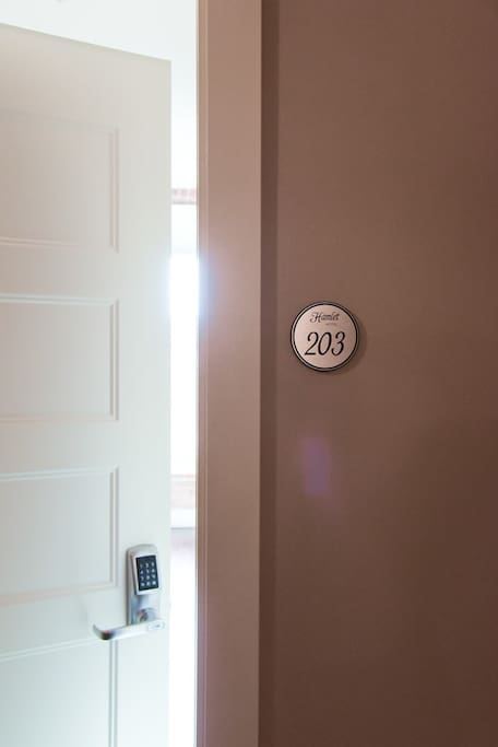 Suite 203 - It's all yours! A completely private one bedroom apartment. Get comfortable!