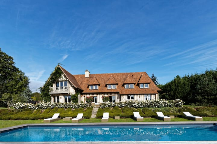 Sublime maison normande à Deauville