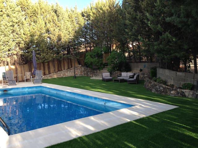 Finca con piscina para familias - Valverde de Alcalá - Willa